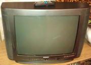Телевизор цветной Горизонт