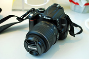 Nikon D5000 12.3 MP DX Digital SLR Camera w/ 18-200mm VR Zoom Len