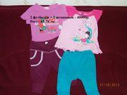 Детские футболочки+штанишки.