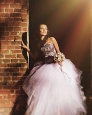 Красивое свадебное платье)
